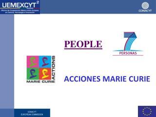 PEOPLE ACCIONES MARIE CURIE