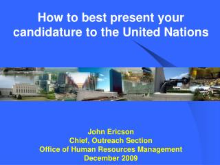UNITED NATIONS ASKS FOR A LOT OF INFORMATION