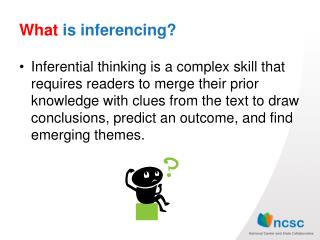 What  is  inferencing ?