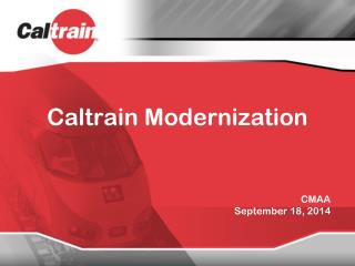 Caltrain  Modernization