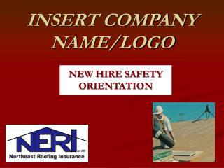 INSERT COMPANY NAME/LOGO