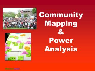 Community Mapping  & Power Analysis