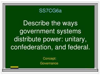 Concept: Governance