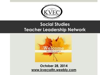 Social Studies  Teacher Leadership Network