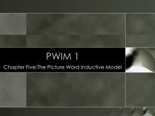 PWIM 1