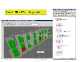 Panel  3D = XML file pointer
