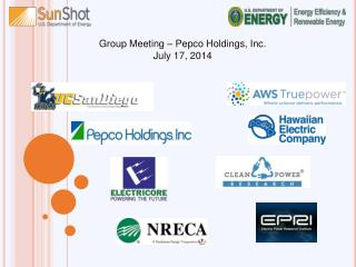 Group Meeting – Pepco Holdings, Inc. July 17, 2014