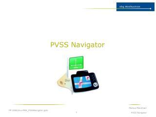 PVSS Navigator