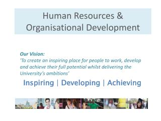 Human Resources & Organisational Development