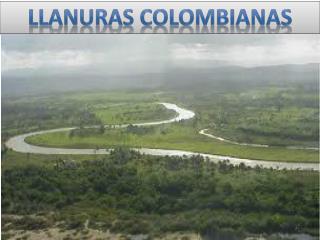 LLANURAS COLOMBIANAS