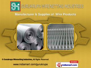 Hexagonal Wire Mesh &  Spring Steel Wire Mesh