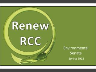 Environmental Senate