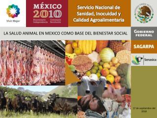 Servicio Nacional de Sanidad, Inocuidad y Calidad Agroalimentaria