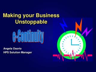 Making your Business Unstoppable