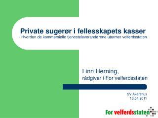 Linn Herning,  r�dgiver i For velferdsstaten