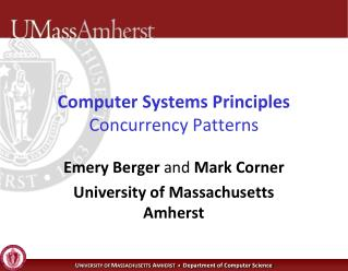 Computer Systems Principles Concurrency Patterns