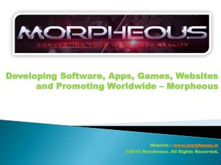 Developing Software, Apps, Games, Websites and Promoting