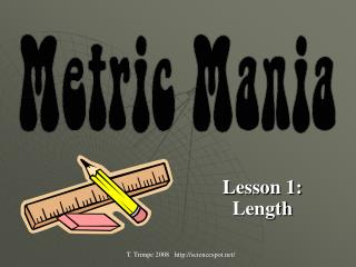 Lesson 1: Length