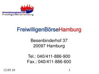 Freiwilligenb�rse Hamburg Hamburg Barrierefrei Das Stadtteilg�nger-Projekt