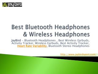 Best Bluetooth Earphones, Wireless Headphones