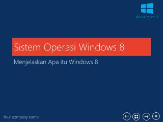Sistem Operasi Windows 8