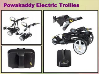 Powakaddy Electric Trollies