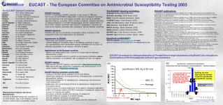 EUCAST - The European Committee on Antimicrobial Susceptibility Testing 2005