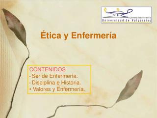 Ética y Enfermería