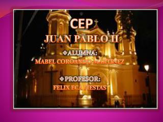 CEP JUAN PABLO II