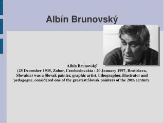 Alb n Brunovsk