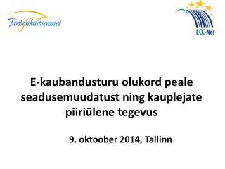 9. oktoober 2014, Tallinn