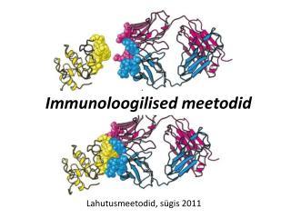 Immunoloogilised meetodid