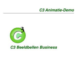 C3 Animatie-Demo