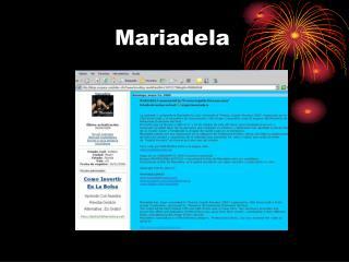 Mariadela