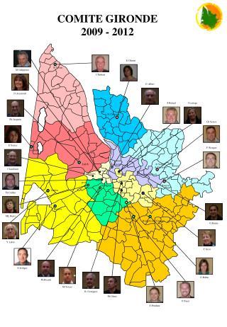COMITE GIRONDE 2009 - 2012