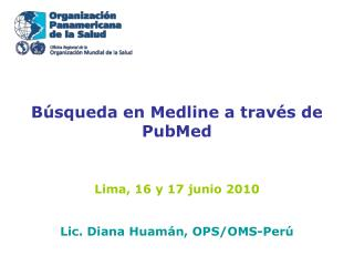 Búsqueda en Medline a través de PubMed