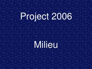 Project 2006