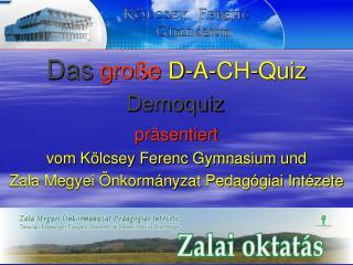 Das große  D-A-CH-Quiz