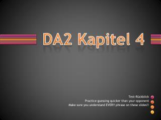 DA2  Kapitel  4