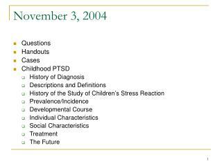 November 3, 2004