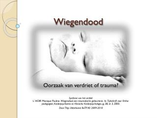 Wiegendood