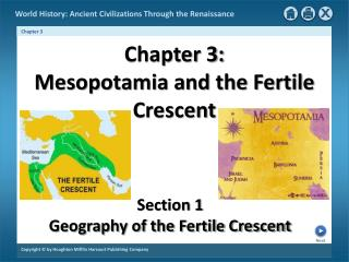 Chapter 3: Mesopotamia and the Fertile Crescent