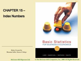 CHAPTER 15 – Index Numbers