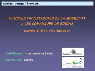 Mobilitat, transport i territori.