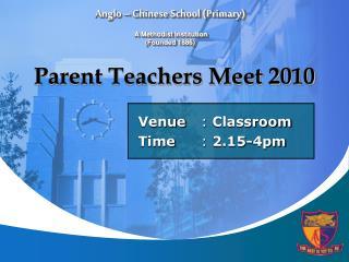 Parent Teachers Meet 2010