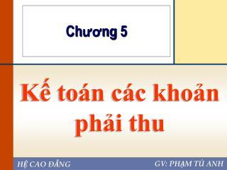 K? to�n c�c kho?n ph?i thu