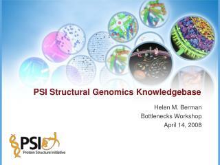 PSI Structural Genomics Knowledgebase