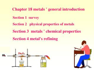 Chapter 18 metals ' general introduction