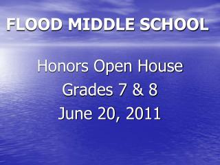 FLOOD MIDDLE SCHOOL