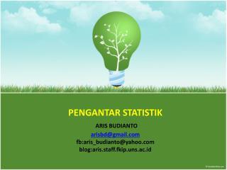 Statistika (Statistics)